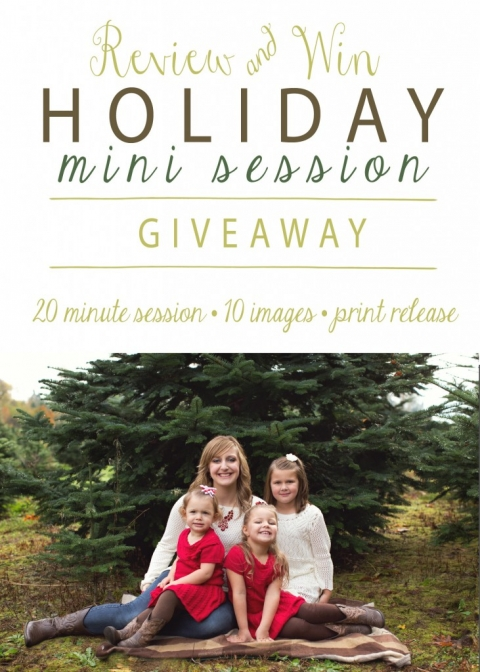 mini session giveaway 2015