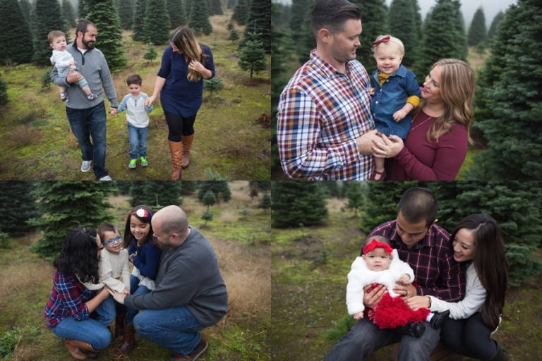holiday tree farm mini sessions | tacoma family photographer | Christina Mae Photography | www.christinamaephotography.com