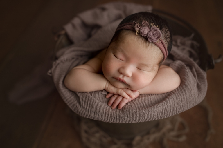 puyallup newborn baby photographer | newborn photography tacoma
