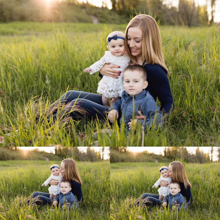 Tacoma Family Photographer | Sunset Family Session Tacoma