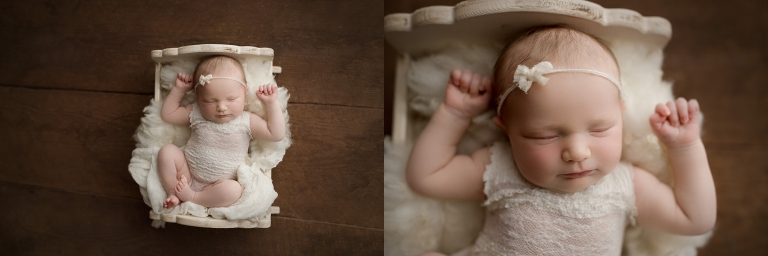baby girl f | newborn photographer seattle