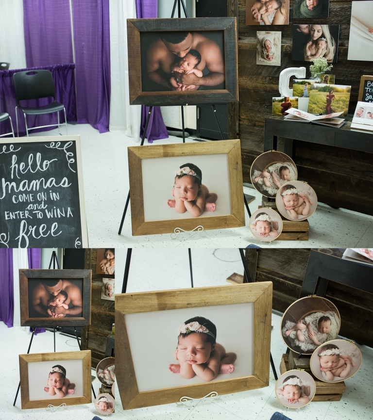 Photography Expo Stands : Newborn expo display booth baby fest northwest seattle newborn