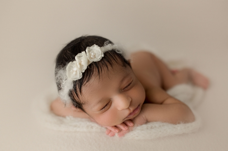 bellevue newborn photographer | indian baby family session