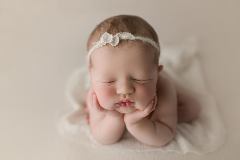 Newborn photographer tacoma baby girl m