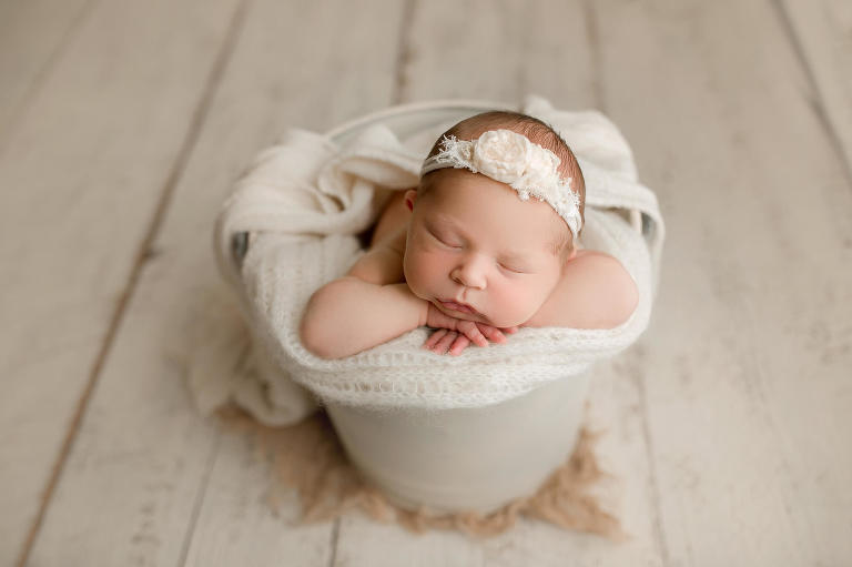 newborn photography Seattle | Puyallup baby girl photographer