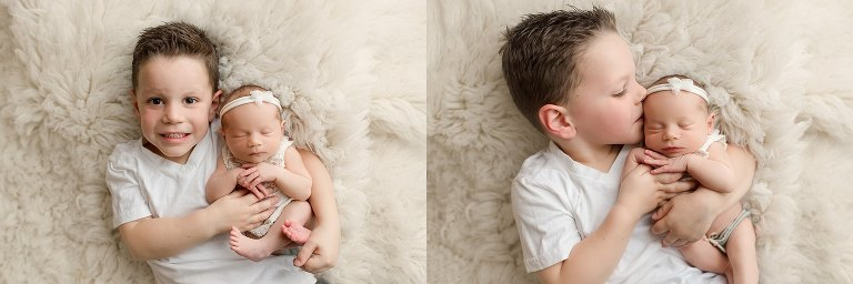newborn baby photographer Puyallup | girl posed session