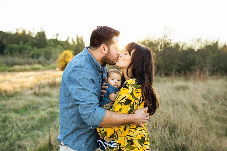 puyallup family photographer   seattle sunset session
