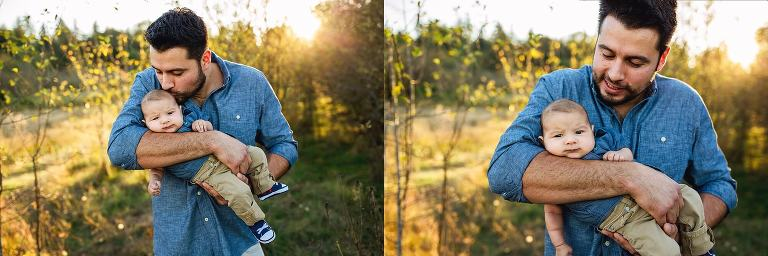 puyallup family photographer | seattle sunset session